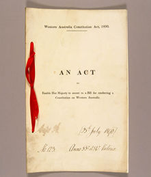 Constitution Act 1890 (UK), cover