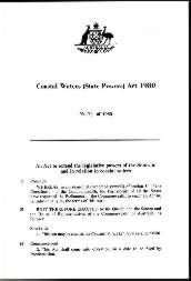 Coastal Waters (State Powers) Act 1980 (Cth), p1