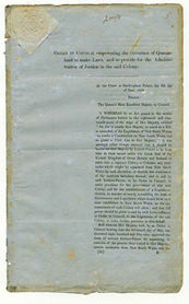 Order-in-Council establishing Representative Government in Queensland 6 June 1859 (UK), p5