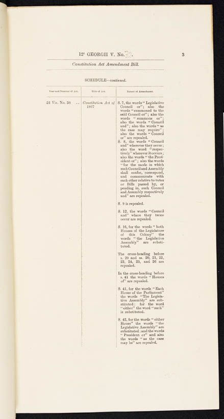 Constitution Act Amendment Act 1922 (Qld), p3