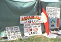 On Australia Day 1972 Aboriginal people set up a tent embassy